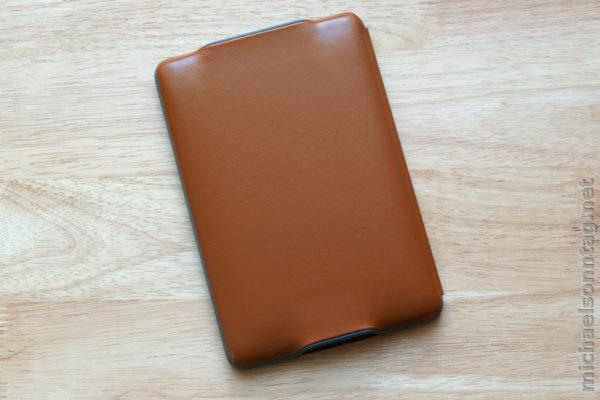 Amazon Kindle Lederhülle mit Leseleuchte - Rückseite
