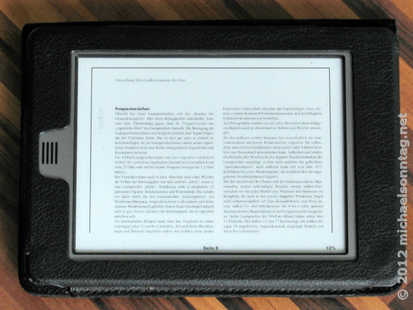 """Technik satt"" als PDF im Querformat"
