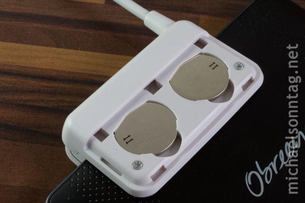 Ozeri Kandle Flex - Batteriefach