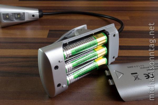 WEDO LED-Leselampe - Rückseite