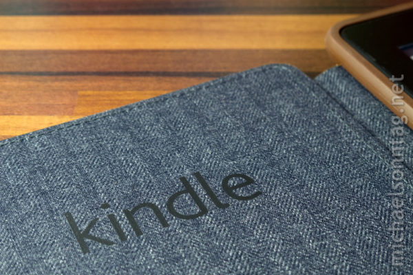 Kindle Paperwhite - Deckel der Originalhülle innen