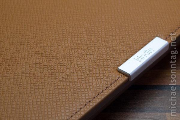 Kindle Paperwhite - Oberfläche der Originalhülle