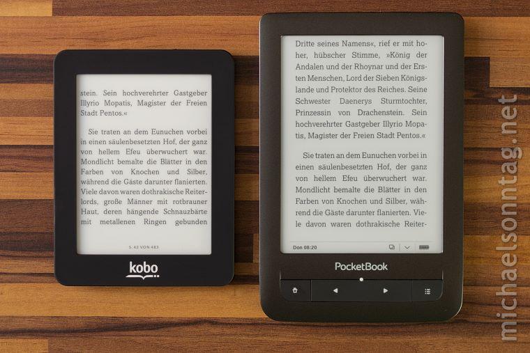 Kobo_Mini-Groessenvergleich_mit_PocketBook_Touch