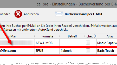 eBooks per E-Mail via Dropbox an neuere PocketBook-Geräte senden