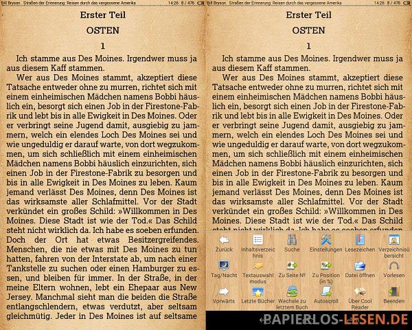 Cool-Reader_mit-und-ohne-menue