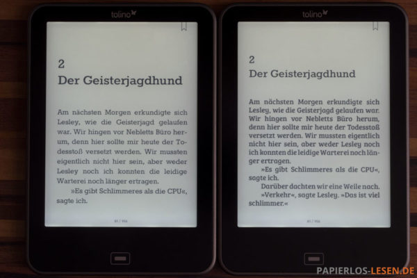 links: Rokkitt - rechts: BreeSerif