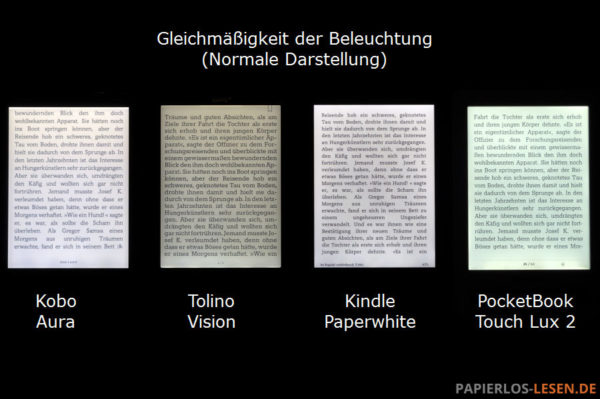 Ausleuchtung-gleichmaessigkeit-normal_Kobo-Aura_Tolino-Vision_Kindle-Paperwhite_PocketBook-Touch-Lux-2