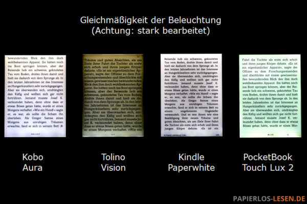 Ausleuchtung-gleichmaessigkeit_Kobo-Aura_Tolino-Vision_Kindle-Paperwhite_PocketBook-Touch-Lux-2