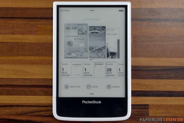 PocketBook-Ultra_Startseite