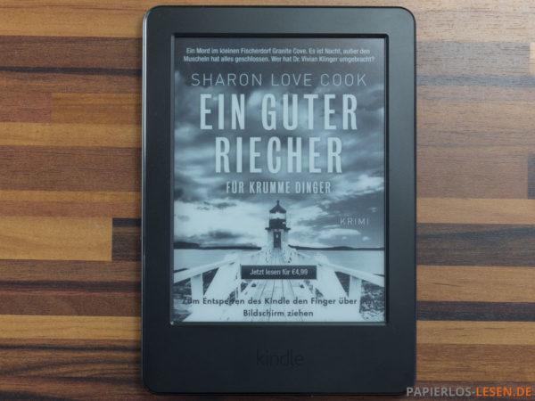 Amazon Kindle (7. Generation) - Werbung auf dem Bildschirm