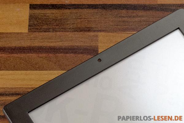 Lichtsensor über dem Bildschirm beim PocketBook Sense