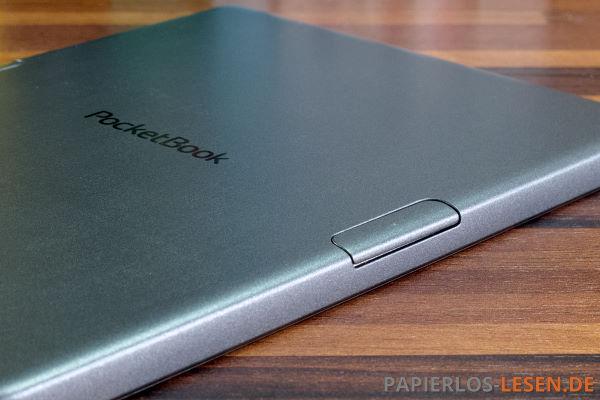 PocketBook Sense rückseitige-Blättertasten
