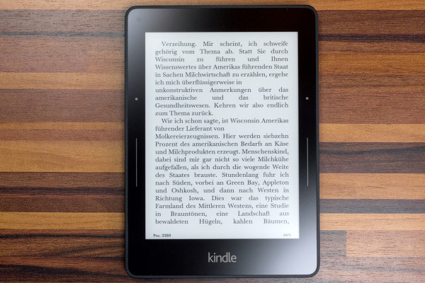 Abbildung des Amazon Kindle Voyage