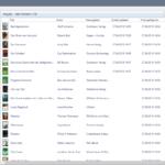 Adobe Digital Editions: Listensicht