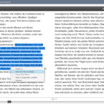 Adobe Digital Editions: Text markieren