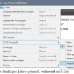 Adobe Digital Editions: Textgröße ändern
