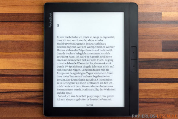 Standard-eBook-Betrachter: Adobe Viewer