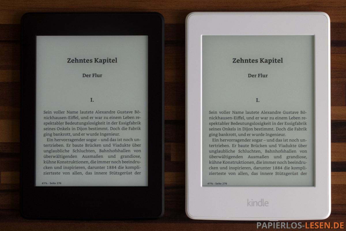 Kindle Paperwhite – schwarz oder weiß? | PAPIERLOS LESEN