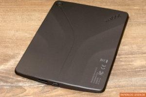 InkBook Classic 2 - Rückseite und Anschlüsse