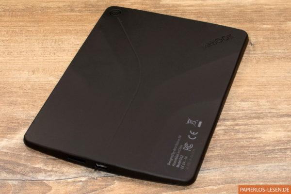 InkBook Prime - Rückseite und Anschlüsse