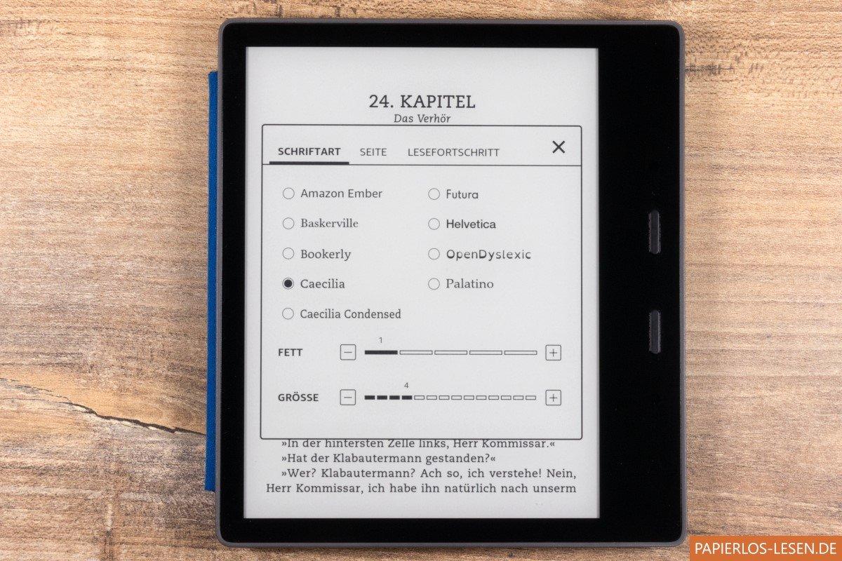 Kindle Ohne Beleuchtung | Der Neue Kindle Oasis 2 Im Praxistest Papierlos Lesen