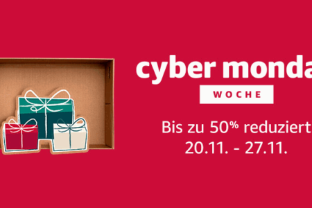 Cybermonday: 40 € Rabatt auf Kindle Paperwhite