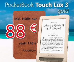 PocketBook Touch Lux 3 für 88 €