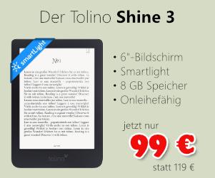 Tolino Shine 3 für 99 €