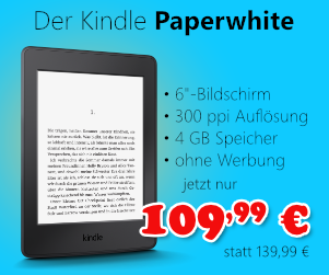 Kindle Paperwhite für 109,99 €