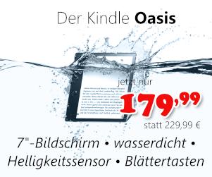 Kindle Oasis für 179,99 €