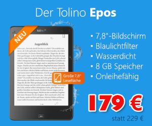 Tolino Epos für 179 €