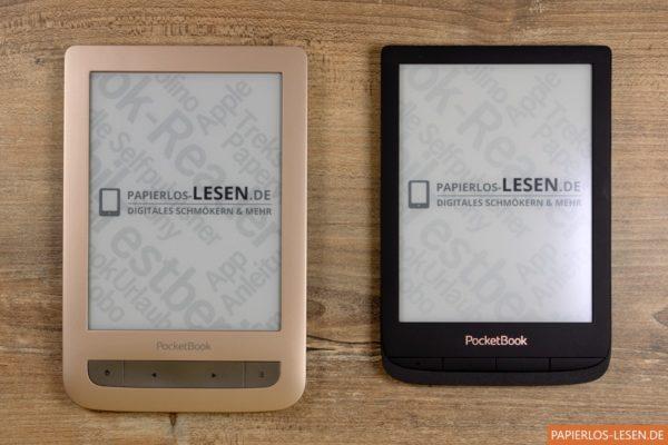 Größenvergleich zwischen Touch Lux 3 (links) und Touch Lux 4 (rechts)