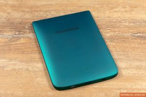 PocketBook Touch Lux 4 (emerald): Rückseite