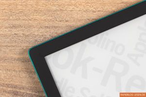 PocketBook Touch Lux 4 (emerald): Umrandung