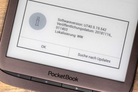 PocketBook Inkpad 3: Neue Firmware bringt Audiobookplayer, schnelleren Browser u.v.m.