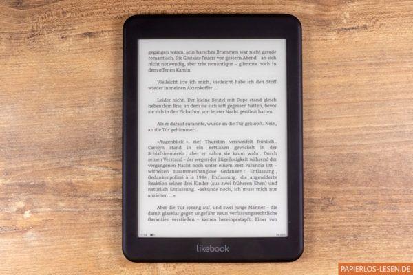 Interne Leseapp: Leerstellen vor Satzzeichen und Anführungsstrichen insbesonders im vorletzten Absatz