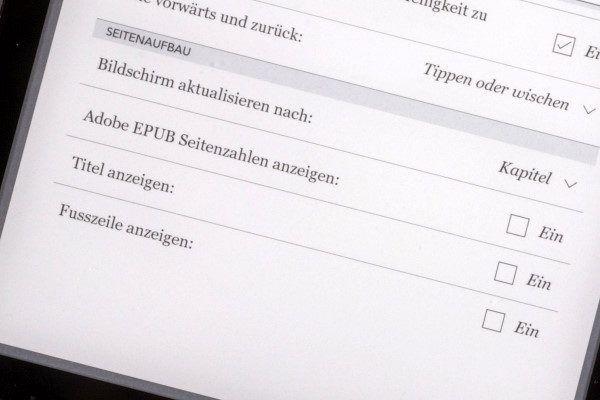 Firmware 4.12.12111: Kopf- und Fußzeile lassen sich nun getrennt ein- und ausblenden