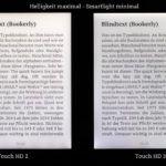 Ausleuchtungsvergleich: maximale Helligkeit - ohne Smartlight