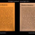 Ausleuchtungsvergleich: maximale Helligkeit - maximales Smartlight