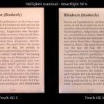Ausleuchtungsvergleich: maximale Helligkeit - mittleres Smartlight
