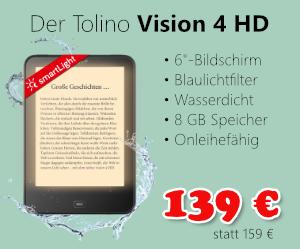 Tolino Vision 4 HD für 139 €