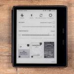 Kindle Oasis 2019: Schnelleinstellung Helligkeit und Farbtemperatur