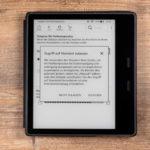 Kindle Oasis 2019: Hinweis zur Automatikeinstellung der Farbtemperatur