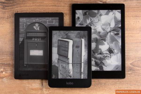Eigene Bilder auf Kobo Aura One, Kobo Aura H2O-2 und Kobo Clara HD