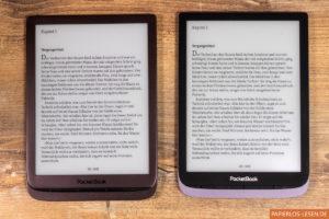 PocketBook Inkpad 3 (links) und Inkpad 3 Pro (rechts)