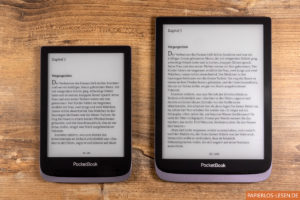 PocketBook Touch HD 3 (links) und Inkpad 3 Pro (rechts)