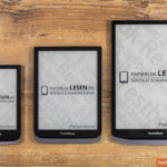 "Von links: PocketBook Touch HD 3 (6""), Inkpad 3 Pro (7,8""), Inkpad X (10,3"")"