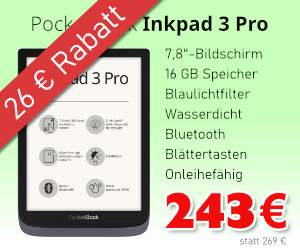 PocketBook Inkpad 3 Pro im Angebot