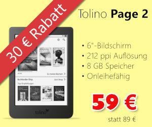 Tolino Page 2 im Angebot