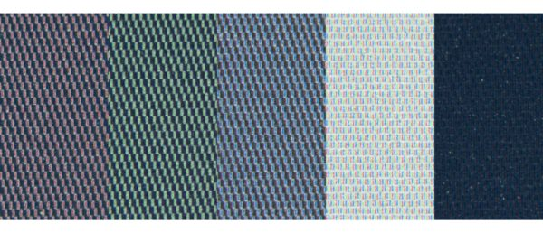 Kaleido-Display: Farben